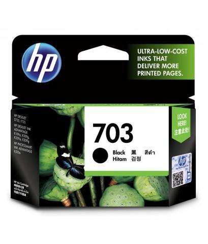 ตลับหมึกอิงค์เจ็ต HP 703 BK หมึกสีดำ
