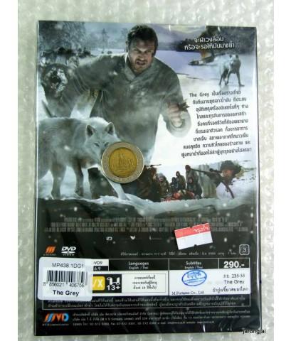 dvd :The  Grey  ฝ่าฝูงเขี้ยวสยองโลก (พากย์ไทย)