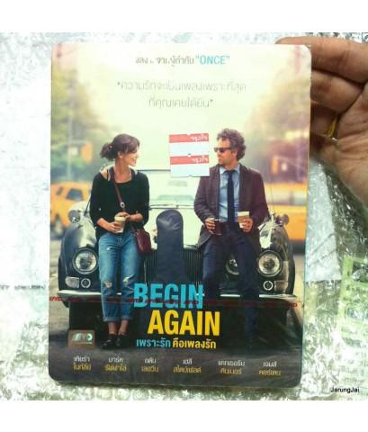 dvd Begin Again-เพราะรัก คือเพลงรัก