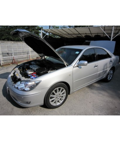 Toyota Camry โฉมตาเหยี่ยว ปี02-06 ติดแก๊สหัวฉีด Autogas Italy ถังแคปซูล64ลิตร