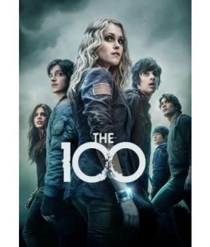The 100 season 1+2 (100 ชีวิต กู้วิกฤติจักรวาล ปี 1+ปี 2) DVD พากย์ไทย รวม 8 แผ่น