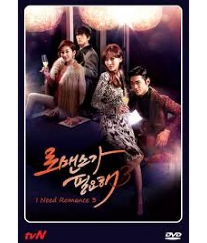 รักนี้ ต้องโรมานซ์ 3/I Need Romance 3 ดีวีดี พากย์ไทย 4 แผ่นจบ