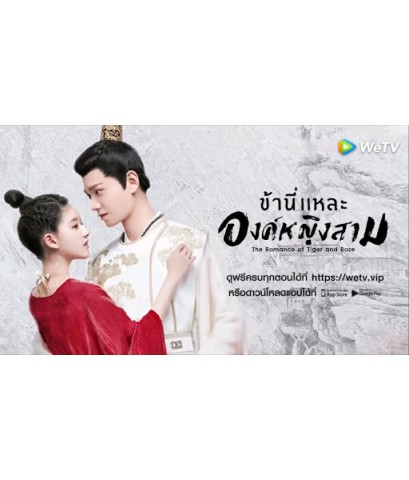 The Romance of Tiger and Rose ข้านี่แหละองค์หญิงสาม DVD พากย์ไทย-บรรยายไทย 4 แผ่นจบ