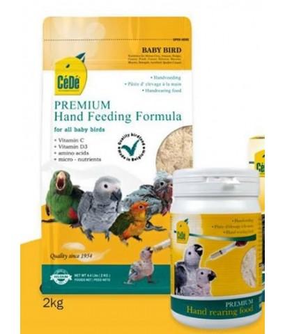 CeDe Formula อาหารลูกป้อน สูตรลูกนกทั่วไป ย่อยง่าย มีวิตามิน C+D3 แร่ธาตุ บรรจุ 2 กิโลกรัม