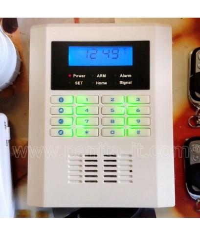 กันขโมยบบ้านไร้สาย 2 ระบบ ใช้ simcard+โทรศัพท์บ้าน