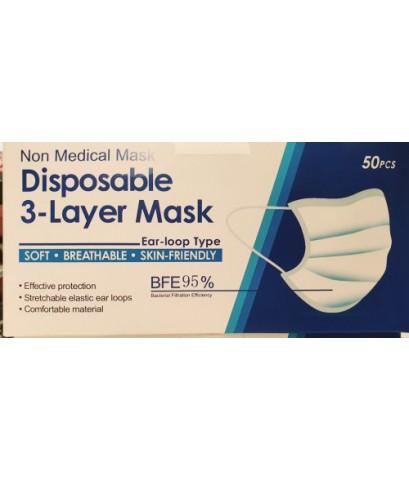 หน้ากากอนามัย Disposable 3-Layer Mask
