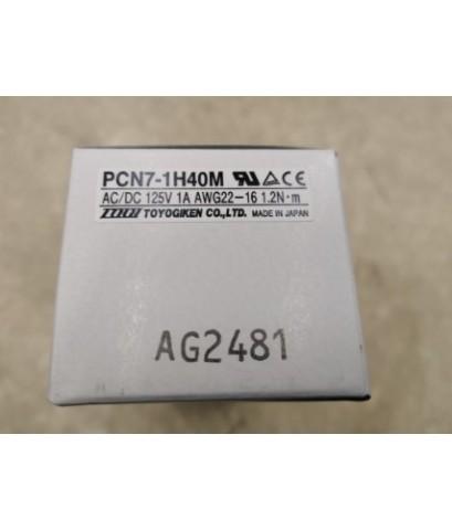 TOYOGIKEN PCN7-1H40M ราคา 850 บาท