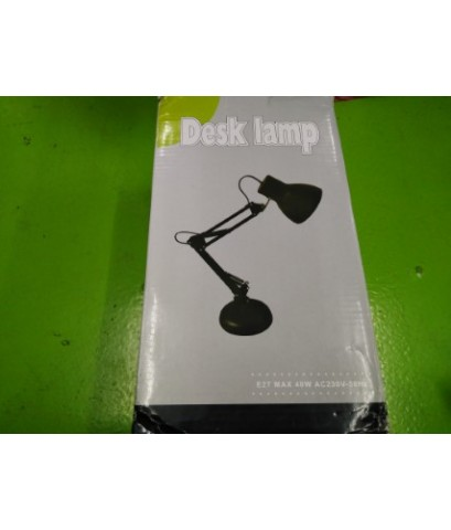 DESK LAMP BLACK  E27 MAX 40W AC230V 50HZ ราคา 400 บาท
