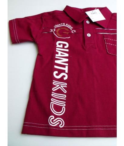 เสื้อคอปก LittleGiants ไซส์ 10 (7-8 ขวบ)