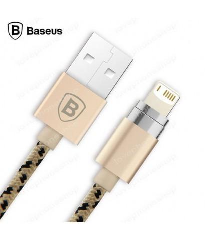 Baseus สายชาร์จแม่เหล็ก สำหรับ iPhone 7/7Plus,6/6Plus,5/5S และ Ipad  Lightning to USB Cable (ส่งฟรี)