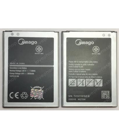 แบตเตอรี่ มอก. Meago สำหรับ Samsung Galaxy S4mini -I9190,I9192,I9195 (ส่งฟรี)