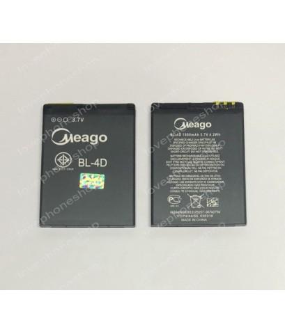 แบตเตอรี่ มอก. Meago สำหรับ Nokia รหัส BL-4D (ส่งฟรี)