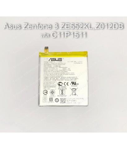 แบตเตอรี่แท้ Asus Zenfone3 ZE552KL,Z012DB รหัส C11P1511 ส่งฟรี!!