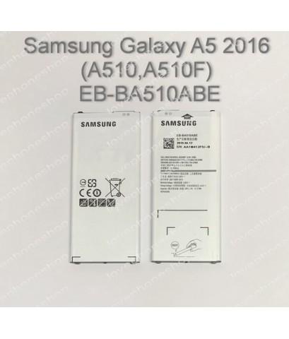 แบตเตอรี่ แท้ Samsung Galaxy A5 2016 (A510,A510F) - EB-BA510ABE (ส่งฟรี)