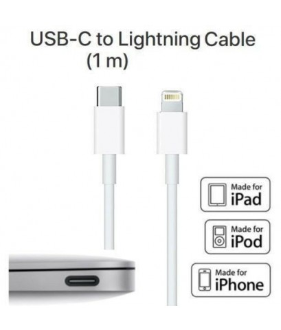 สาย USฺB Type-C to Lightning Cable for Mac,iPhone แท้!! (ส่งฟรี)