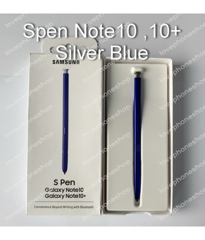 ปากกา Spen Note10,Note10+ (N970) With Bluetooth Silver Blue ของแท้!! [ส่งฟรี]