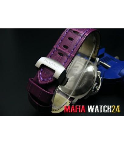 M0178 นาฬิกา Panerai Luminor Chrono Daylight 40mm. Lady Boy Size Mirror A+++3Plus Pam 251