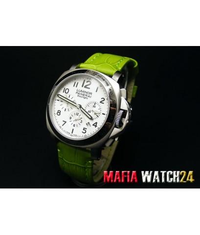 M0177 นาฬิกา Panerai Luminor Chrono Daylight 40mm. Lady Boy Size Mirror A+++3Plus Pam 188