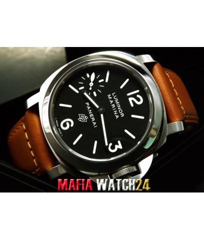 M0432 นาฬิกา Panerai Luminor Marina LOGO 44 mm. PAM005 Swiss Grade AAA งานท็อป 1-1 เหมือนสุดๆ