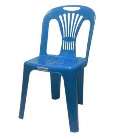 MD8-008 เก้าอี้พลาสติกมีพนักพิง เกรด A No.133
