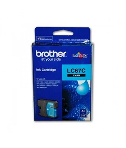 LC-67C BROTHER CYAN INK