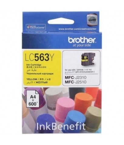 LC-563Y BROTHER YELLOW INK