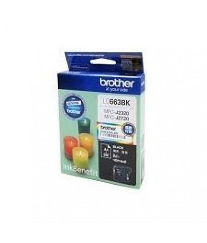 LC-663ฺBK BROTHER BLACK INK