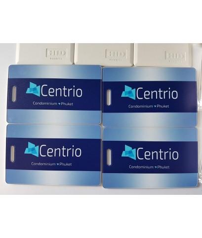 บัตรคีย์การ์ด CENTRIO