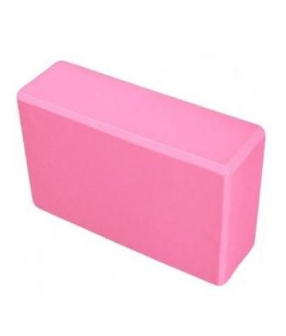 บล็อคโยคะ Yoga EVA Foam Block สีชมพู