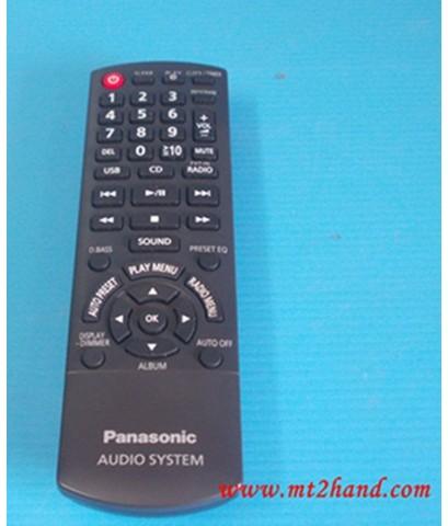 (สินค้าขายแล้ว)ชุดเครื่องเสียง สเตอร์ริโอ Panasonic SA-PM200 มีCDในตัวหลุดจำนำ ภาพสินค้าจริง ส่งฟรี