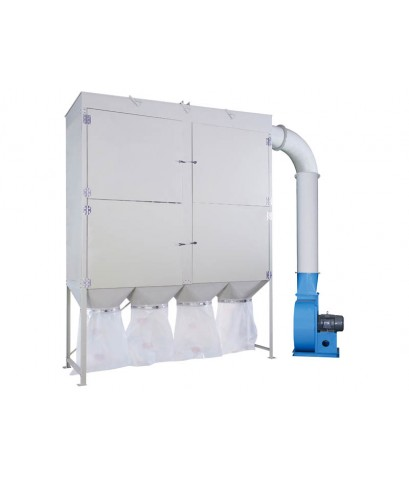 INDUSTRIAL DUST CYCLONE CENTRAL SYSTEM-UB-150