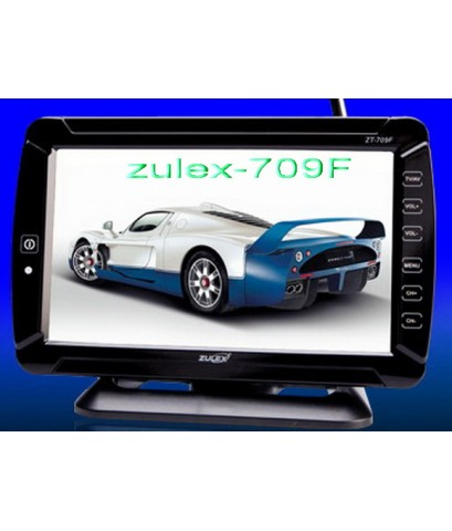 TV MONITOR จอตั้ง ขนาด 7 นิ้ว เป็นผลิตภัณท์ใหม่ล่าสุดของ Zulex รุ่น 709F ครับ