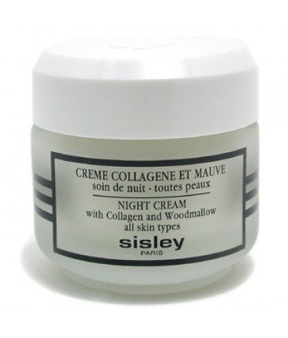 Pre-order : -30 Sisley Night Cream with Collagen and Woodmallow 50ml.