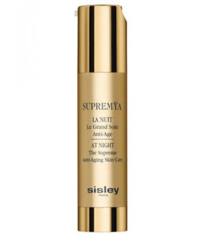 Pre-order ลด 30 เปอร์ : Sisley SUPREMYA At Night The Supreme Anti-Aging Skin Care 50ml.