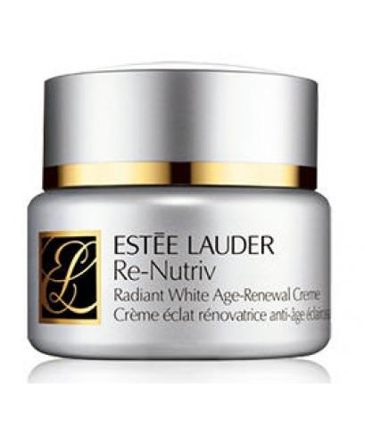 Pre-order : -30 Estee Lauder Re-Nutriv Radiant White Age-Renewal Crème 50ml.