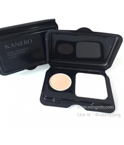Tester : Kanebo DUAL RADIANCE POWDER FOUNDATION SPF15 (0.3g.) สี Ochre สำหรับสีผิวกลางๆ