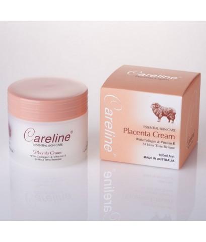 *พร้อมส่ง* Careline Placenta Cream with Collagen and Vitamin E 100ml.