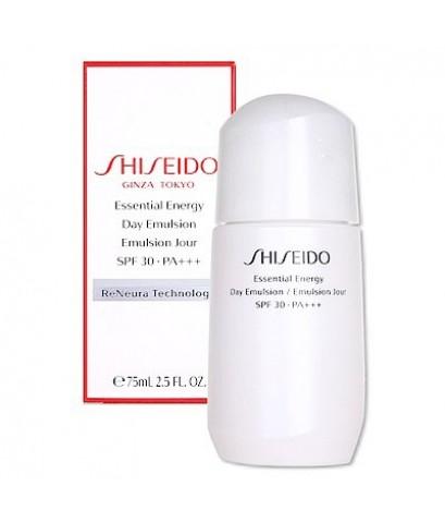 Pre-order : -30 Shiseido Essential Energy Day Emulsion SPF 30 PA+++ 75ml.