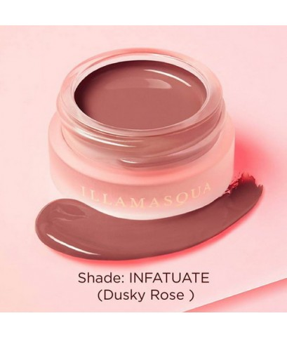 Pre-order : Illamasqua Colour Veil 4.5ml. ~ INFATUATE (Dusky Rose)