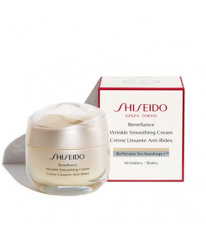 Pre-order : -30 Shiseido Benefiance Wrinkle Smoothing Cream 50ml. ผิวธรรมดา-ผิวมัน