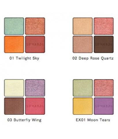 Pre-order : -25 *New* Lunasol EYE COLORATION ~ มี 4 เฉดสี