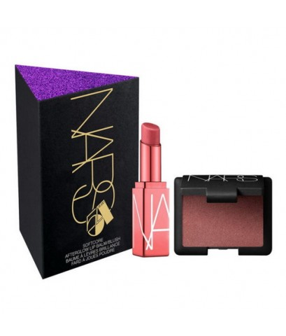 Pre-order : NARS Softcore Mini Blush And Balm Set Dolce Vita (Limited Edition Holiday 2019)