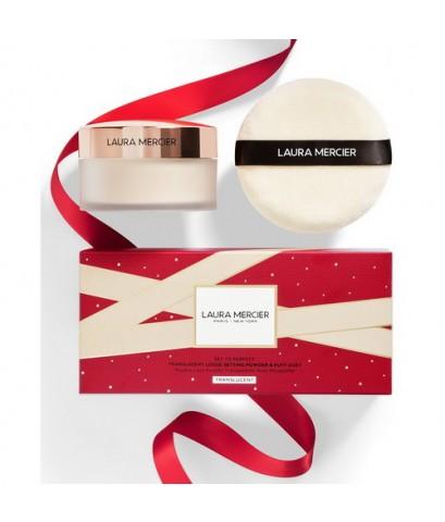 *พร้อมส่ง* Laura Mercier Set for Luck Translucent Loose Setting Powder with Puff