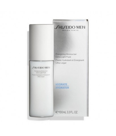 Pre-order : Shiseido Men Energizing Moisturizer Extra Light Fluid 100ml.