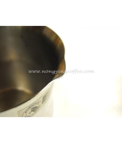 หม้อต้มกาแฟไอบริค หัวม้าลาย [Ibrik coffee pot, by Zebra head]