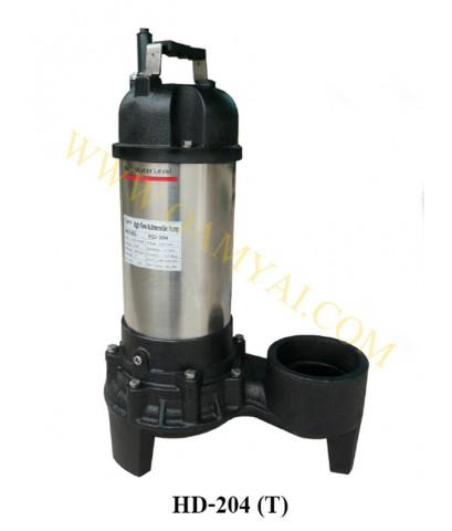 ปั๊มแช่สูบน้ำปริมาณน้ำมากขนาด 4นิ้ว  380V  รุ่น HD-204T  APP