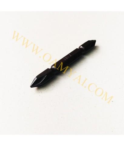 ดอกไขควงลม 2 หัวคอยาวปากแฉก No.3 x 150 mm รุ่น H-12 HIBIT