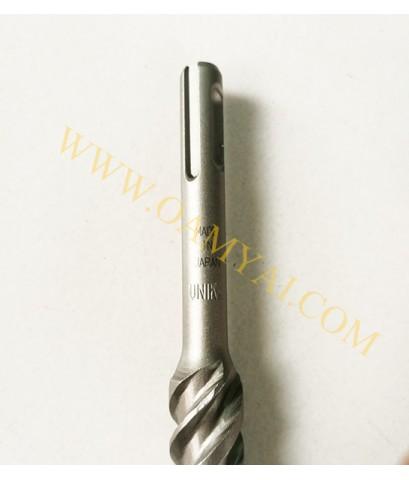 ดอกสว่านโรตารี่เจาะปูนหัวแฉก UX Type  ขนาด 10.5 mm  UNIKA