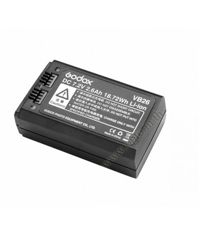 VB26 Godox Speedlight Flash Battery for V1 Speedlite Flash แบตเตอรี่
