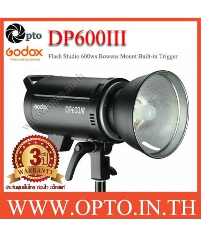 DP600III Godox Professional Studio Strobe Flash Light 600Ws Built-in Wireless X System แฟลชสตูดิโอ